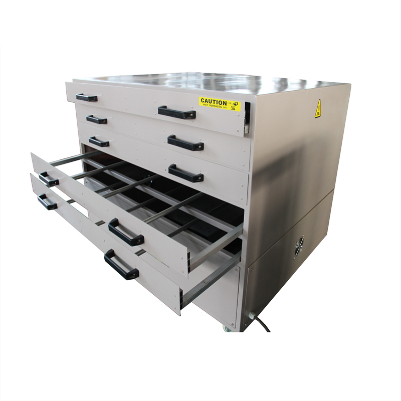 Multi-layer screen printing drying cabinet for sale