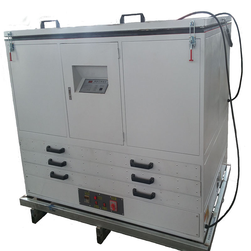 Drying cabinet with exposure machine for screen