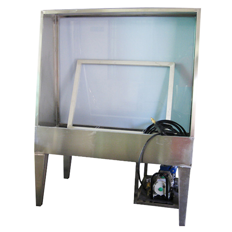 Stainless steel screen washing machine for washing emulsion
