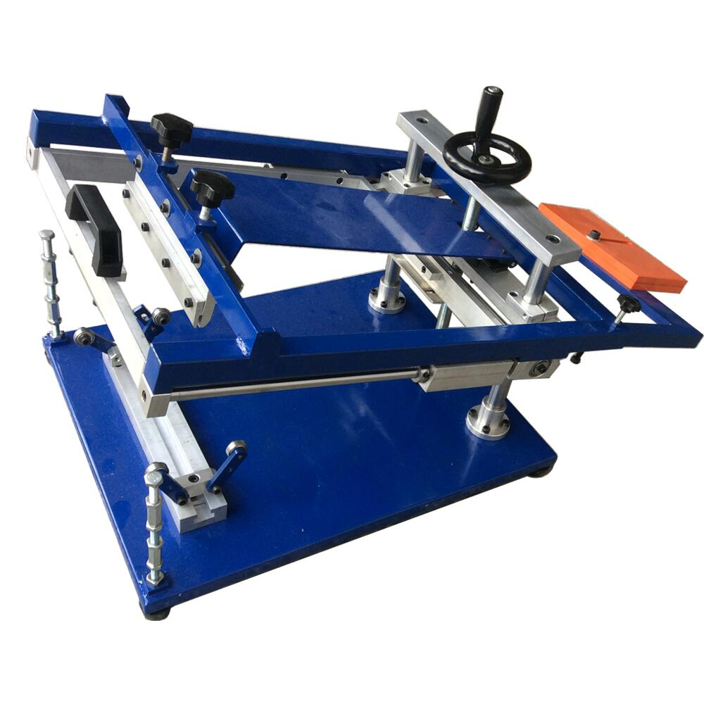 Manual cylindrical screen printing machine
