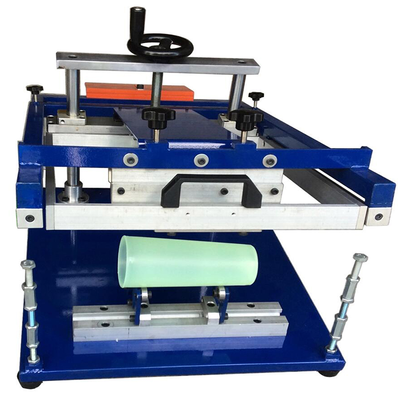 Silk screen manual cylindrical round printer