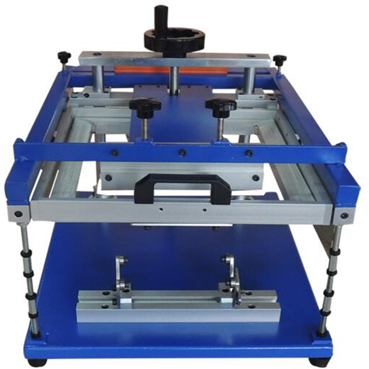 High quality cylindrical manual screen printing machine for mugs