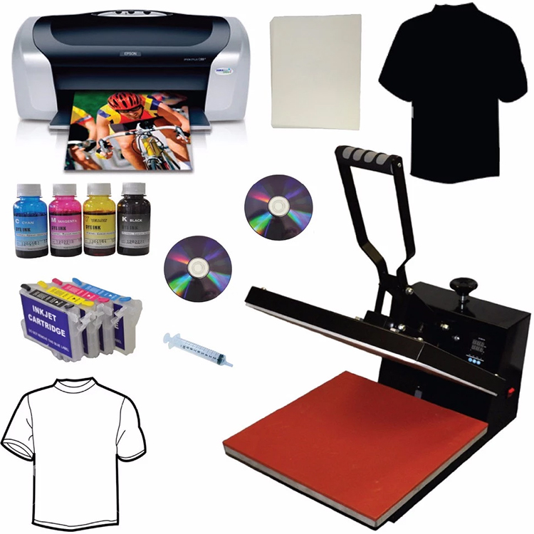 Cheap price heat press machine for T-shirt for sale