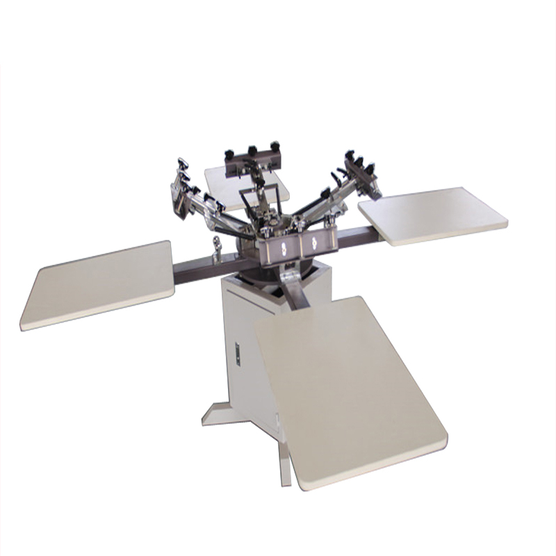 Screen printing machine wooden plate with micro registration