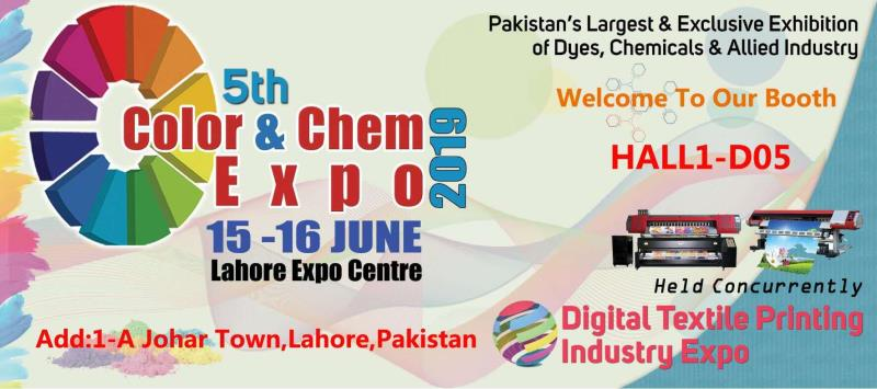 The 5th Color& Chem EXPO holded on Lahore pakistan