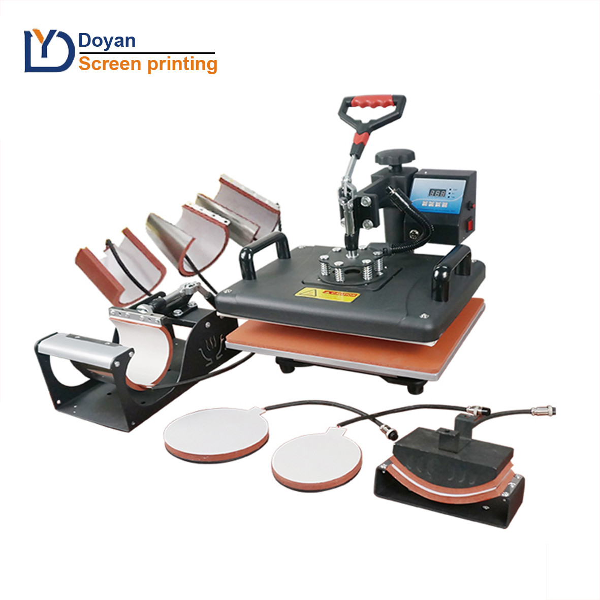 8 in 1 multifunction heat press machine