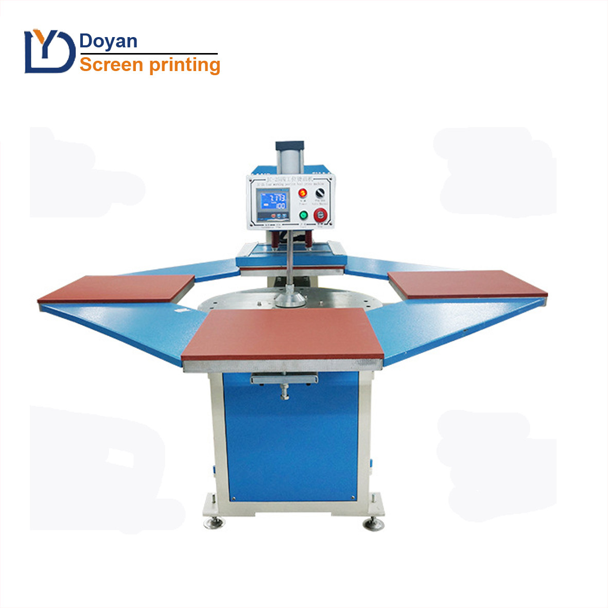 Full Automatic 4 position heat press machine
