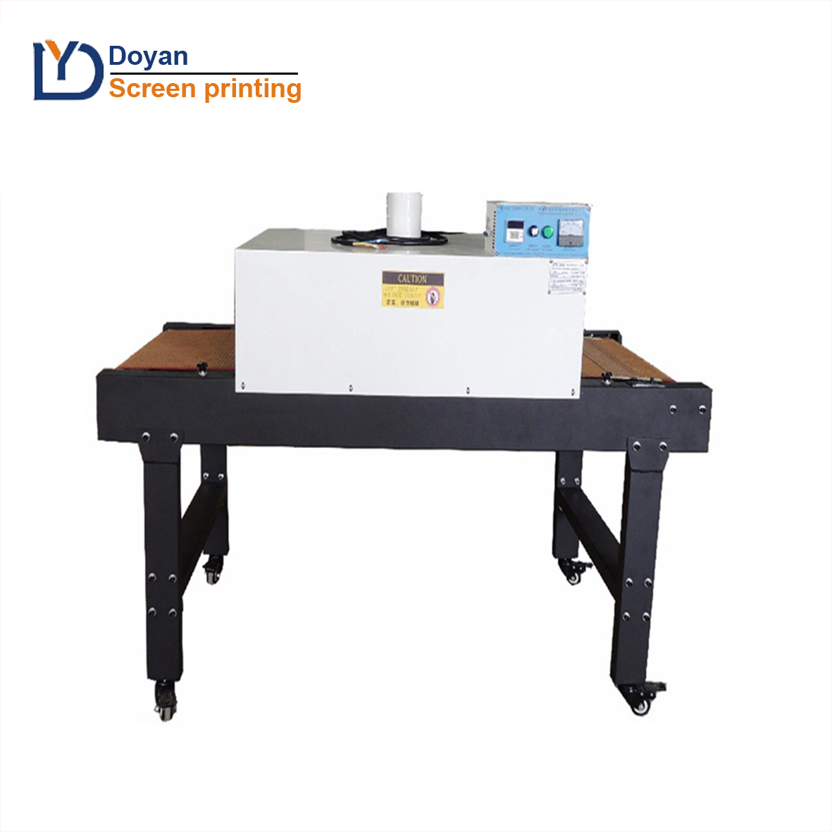 IR lamp Tunnel dryer for drying T shirt